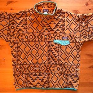 Patagonia Synchilla Aztec unique design pullover